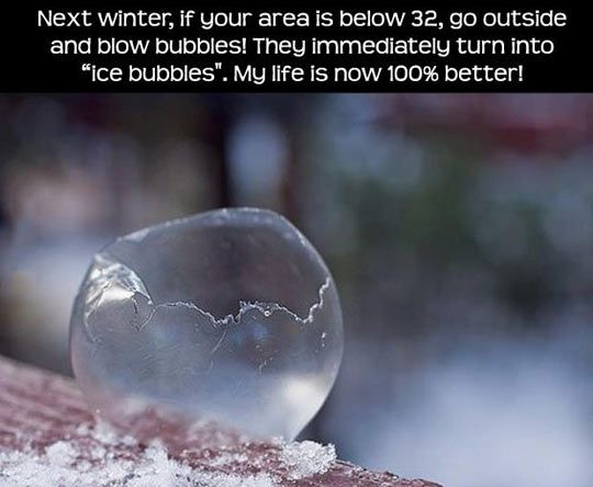 freezing bubbles activity