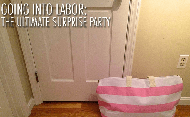 going into labor the ultimate surprise part