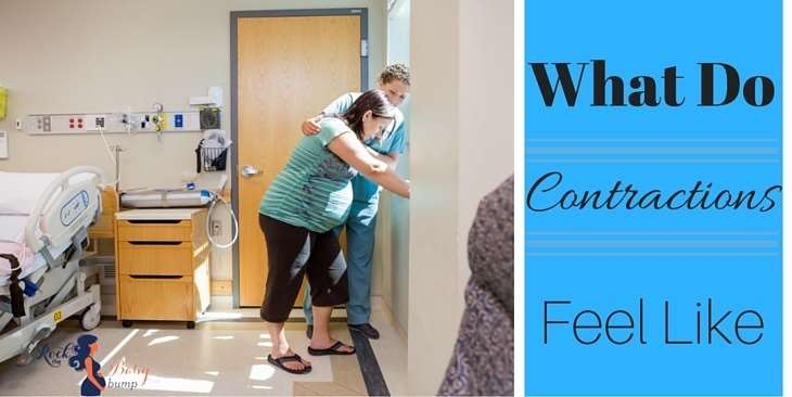 what do contractions feel like labor pains