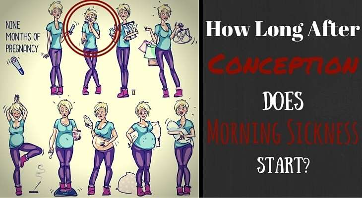How Long After Conception Does Morning Sickness Start