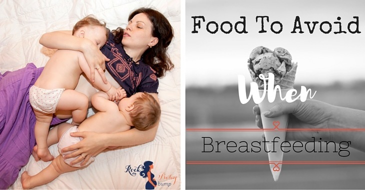 food to avoid when breastfeeding